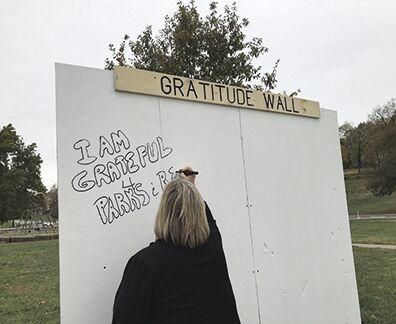 KC Parks Offers Community Gratitude Walls