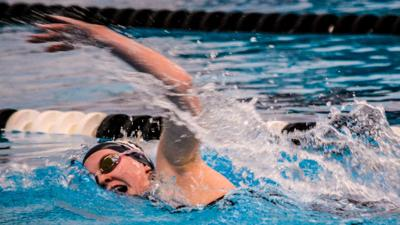 Eagles swim finishes 5th at state