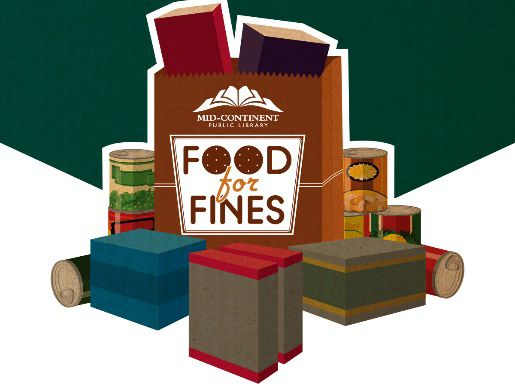 Food for fines forgive library debt