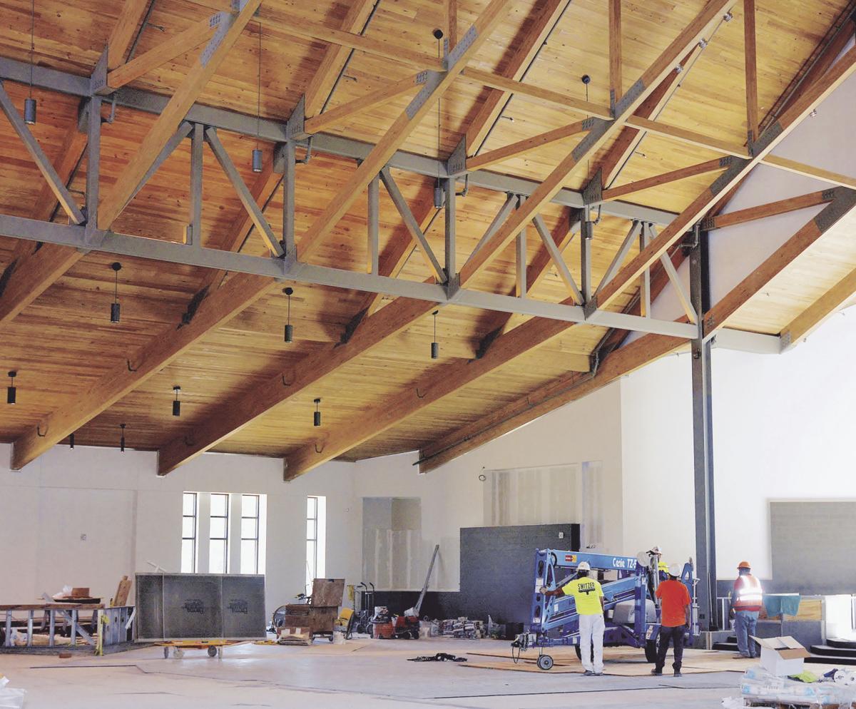 St. James Catholic Church construction moving along