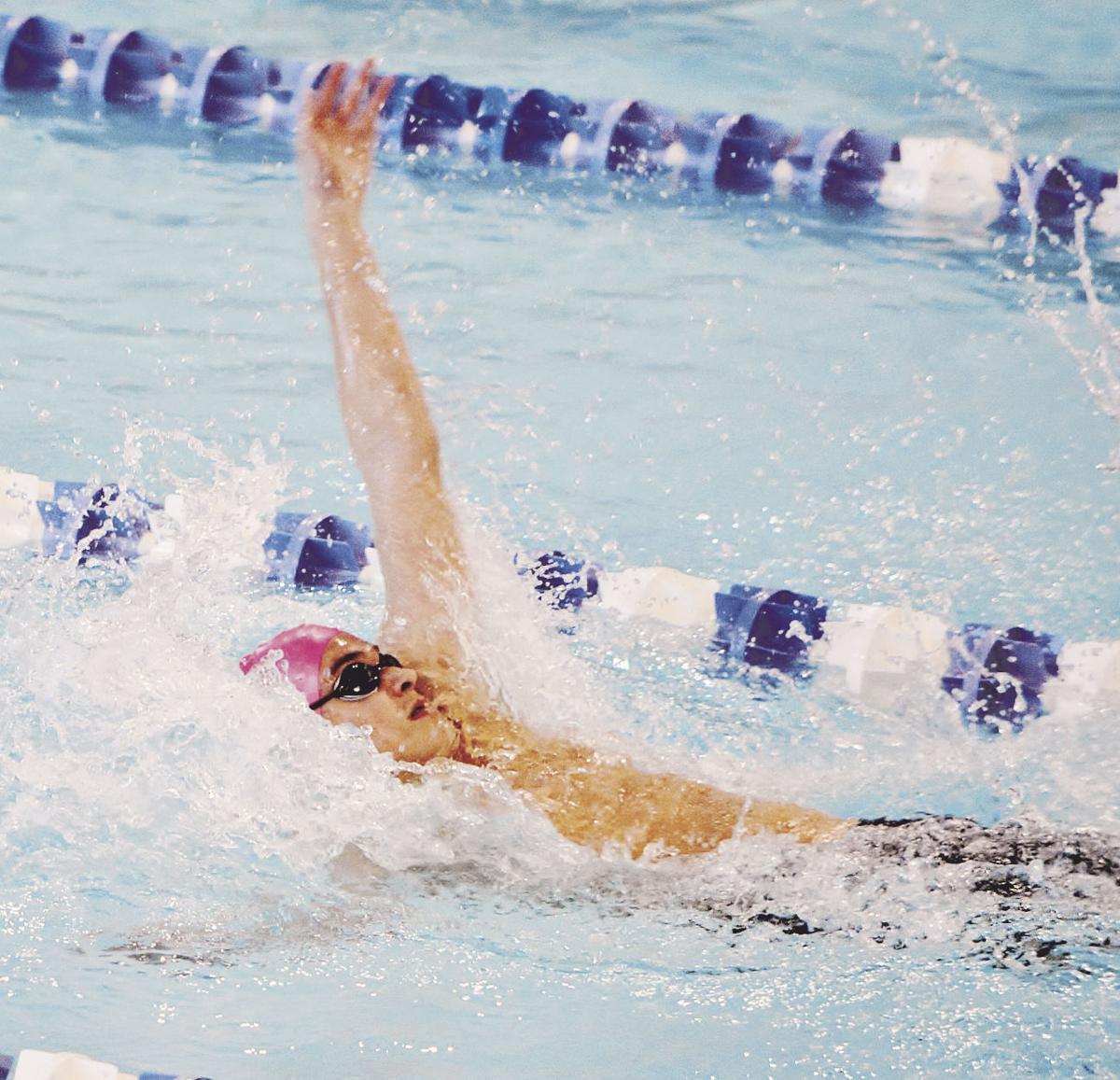 Blue Jays finish runner-up at Suburban Red swim meet