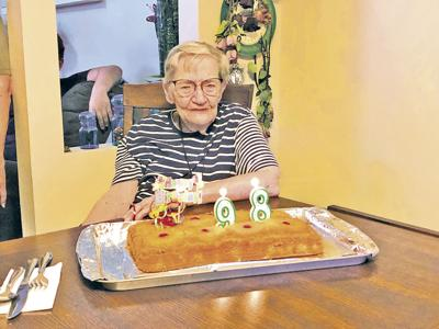 Charlotte Fleming turns 98