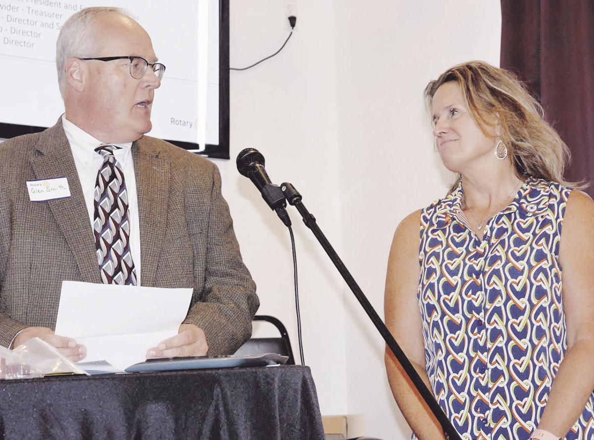 Liberty Rotary celebrates membership, reading