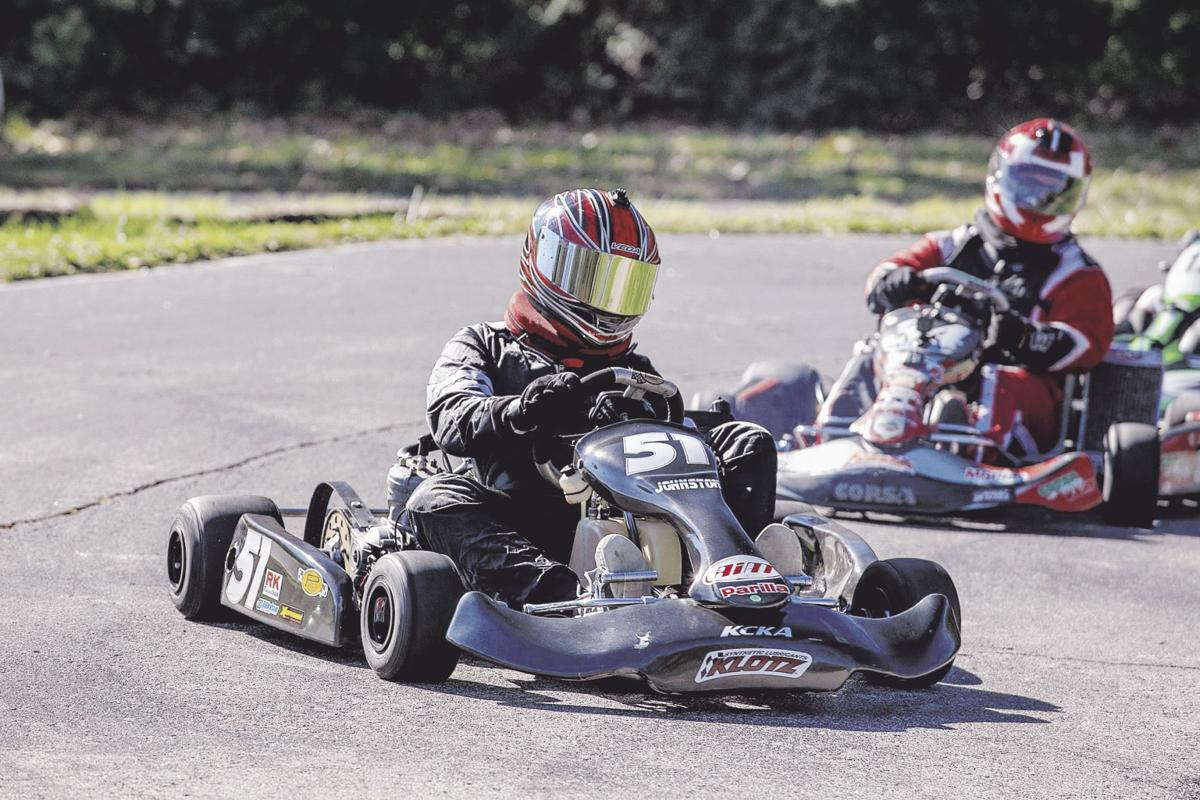 ON TRACK: Go-cart racing part hobby, part sport