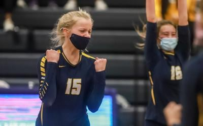Eagles volleyball punch ticket to state final four