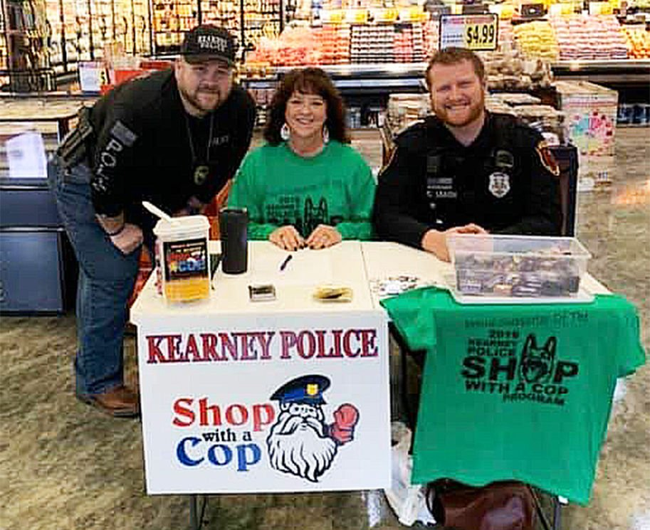 Cops shopping with kids in need this weekend