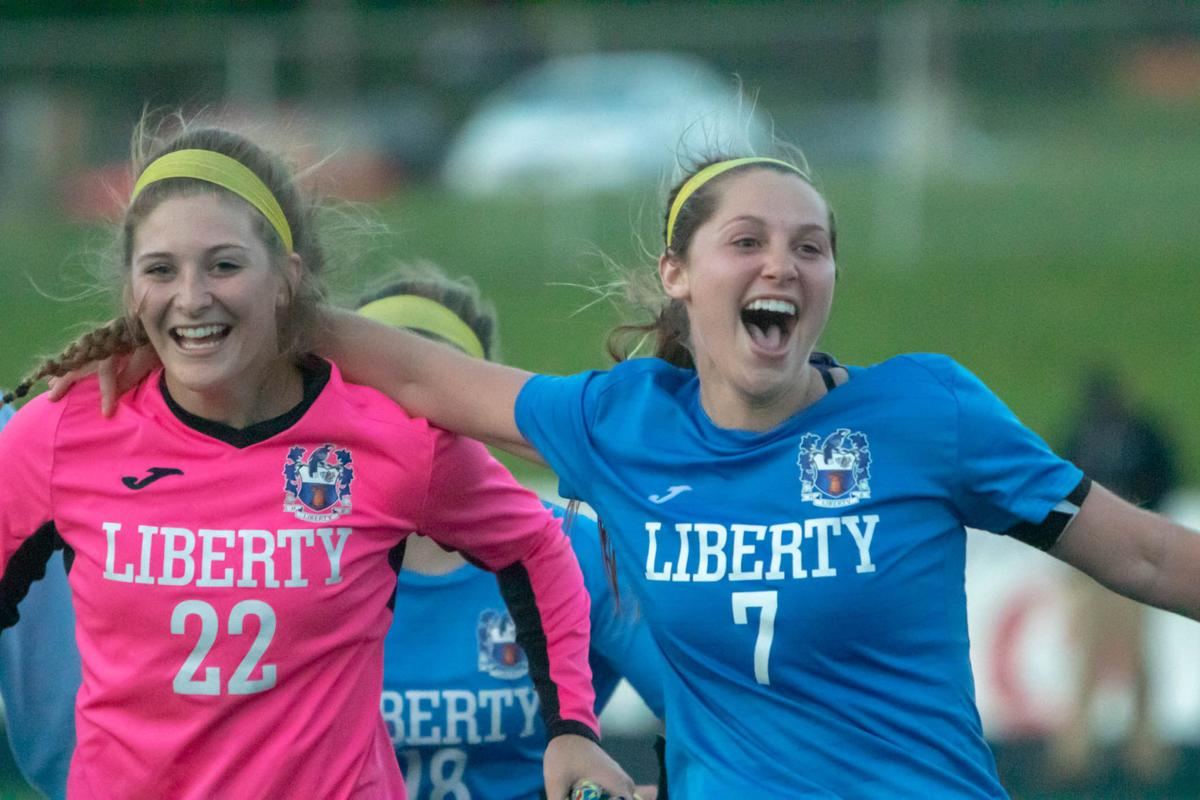 Penalty kicks seperate Liberty, Staley in section round