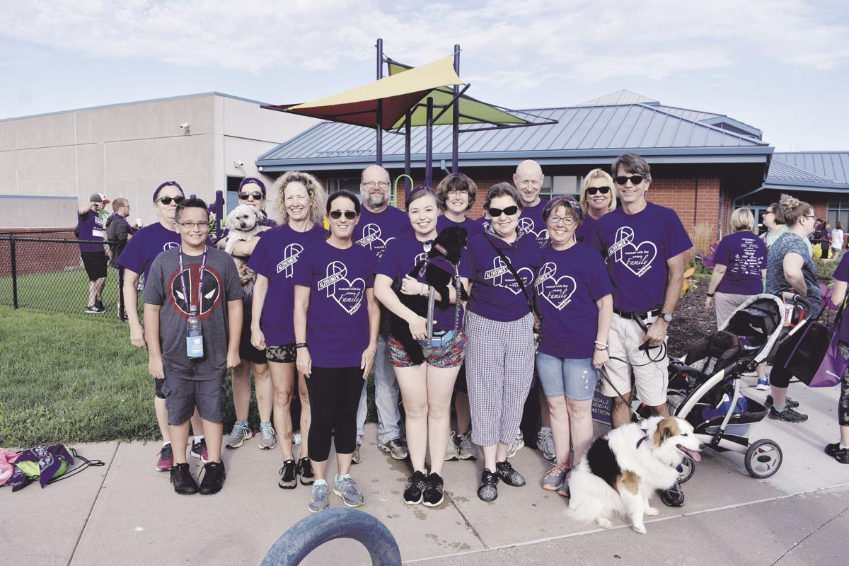 Liberty completes first Walk to End Alzheimer's