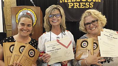 Courier-Tribune wins 13 state journalism awards