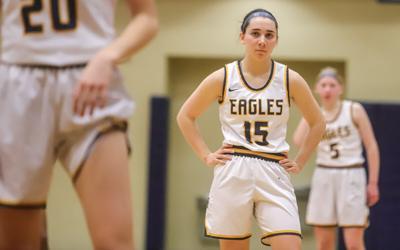 Eagles girls hoops season ends in upset loss in district semis