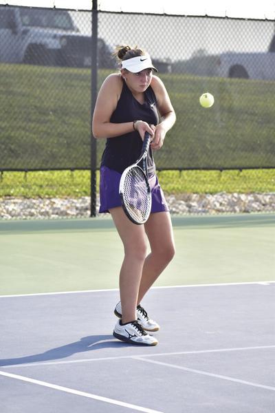 Senior night looks different for Kearney tennis