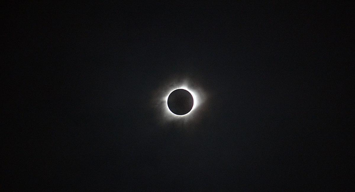 Kearney's eclipse experience