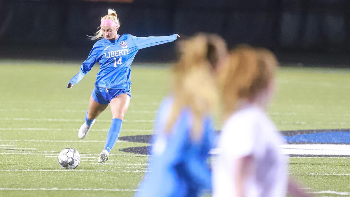 Liberty girls soccer splits 2 games this week