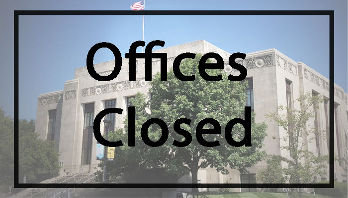 County office closed