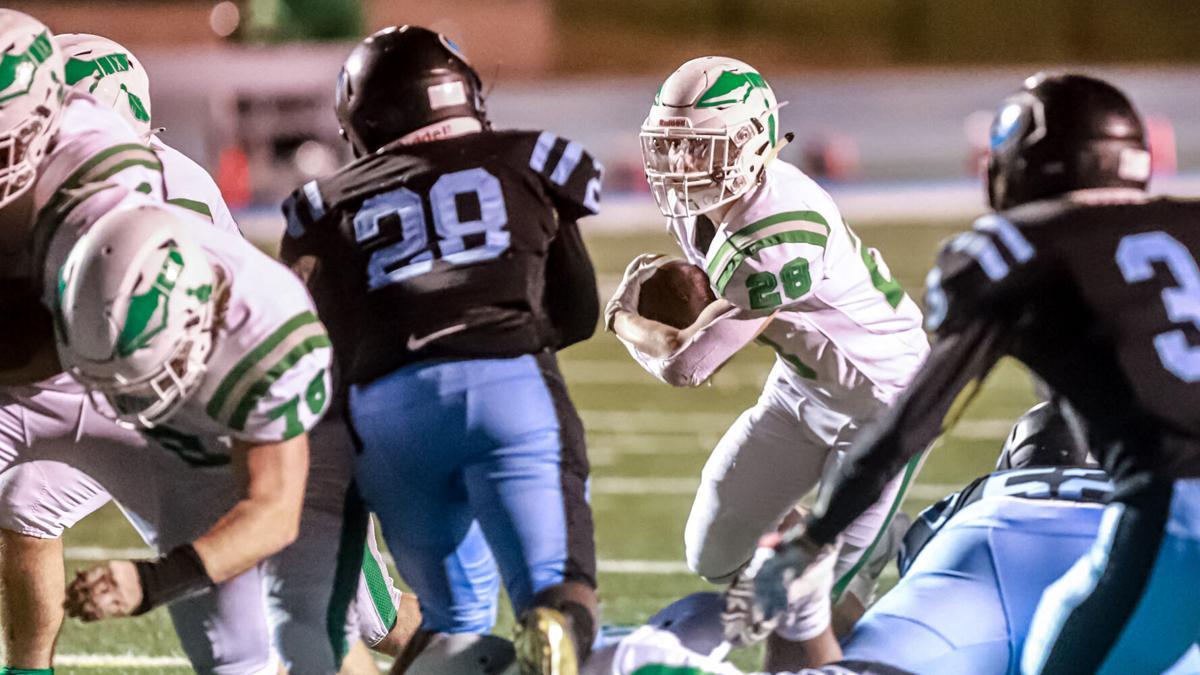 Smithville running back Hayden Sigg