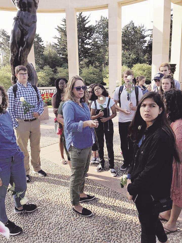 Northlander travels, teaches abroad
