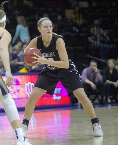 Former Lady Blue Jay scores 1,000th career point for UCM Jennies basketball