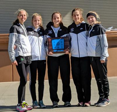 Smithvile girls cross country win another Suburban Blue title