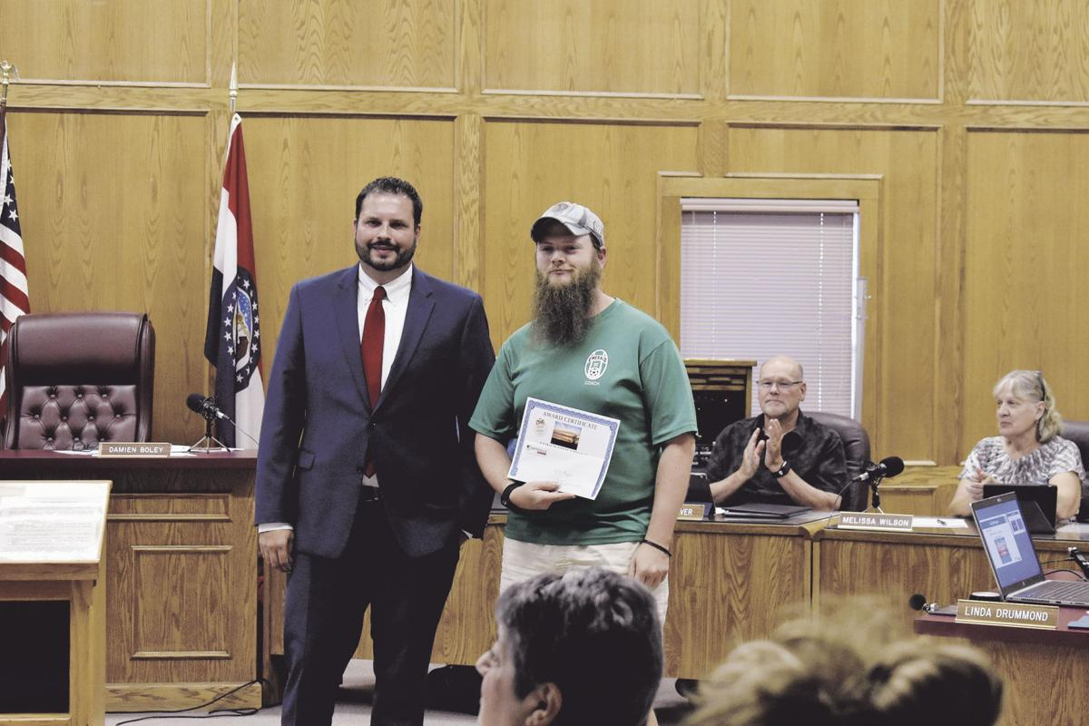 City Clerk receives certificate