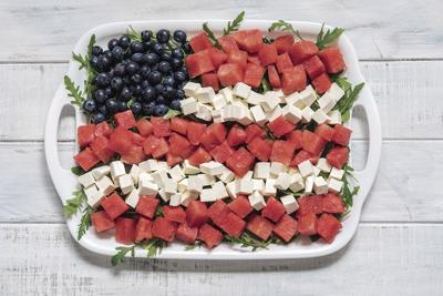 KITCHEN DIVA: Three cheers for red, white and blue