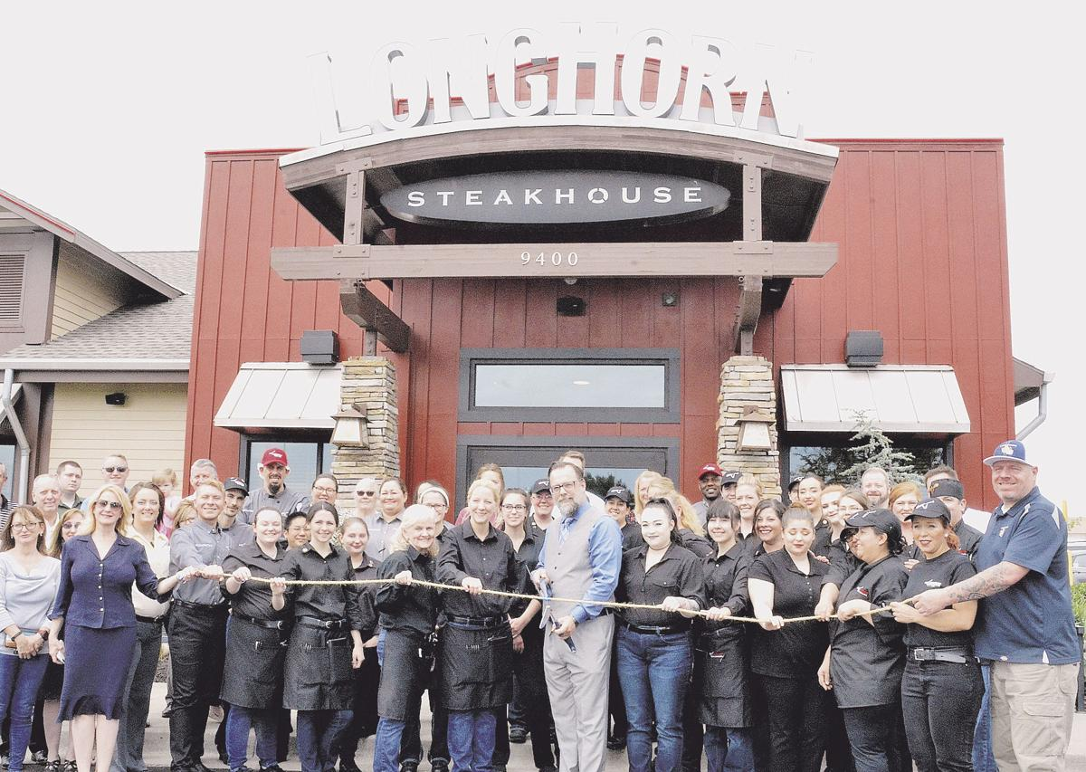LongHorn Steakhouse back open after December fire