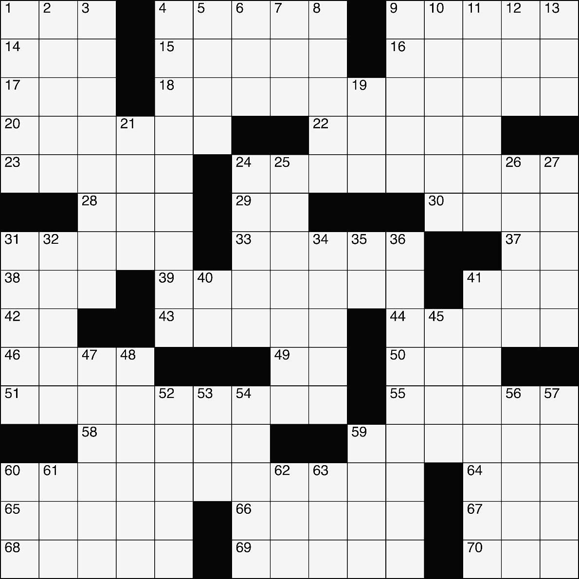 Crossword March 30 2017 Mycouriertribune