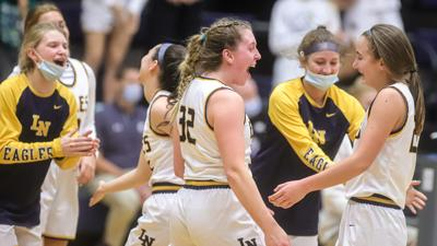 Liberty North girls hoops beats Liberty for 1st time in program history