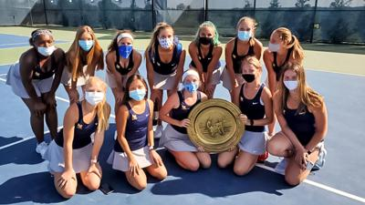 Liberty North girls tennis wins Liberty North Doubles Invite