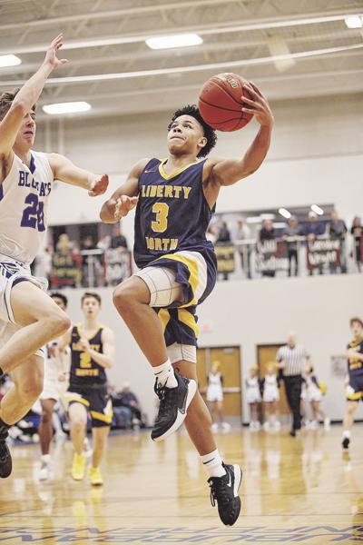 Jalen Perry Liberty North Boys Basketball