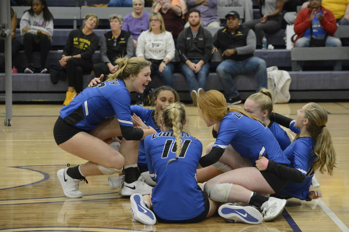 Liberty breaks through against St. Teresa's, advance to final four