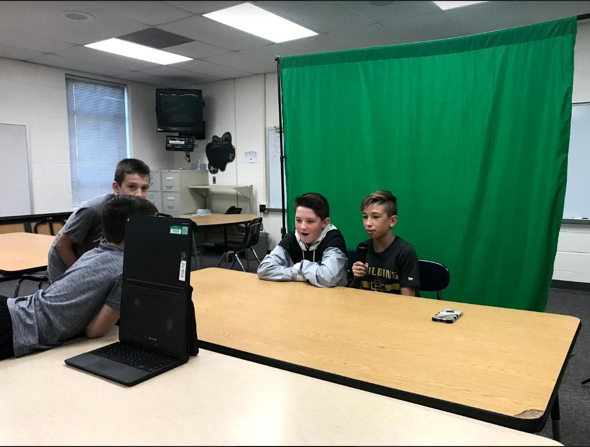 Horizon students learn broadcasting skills