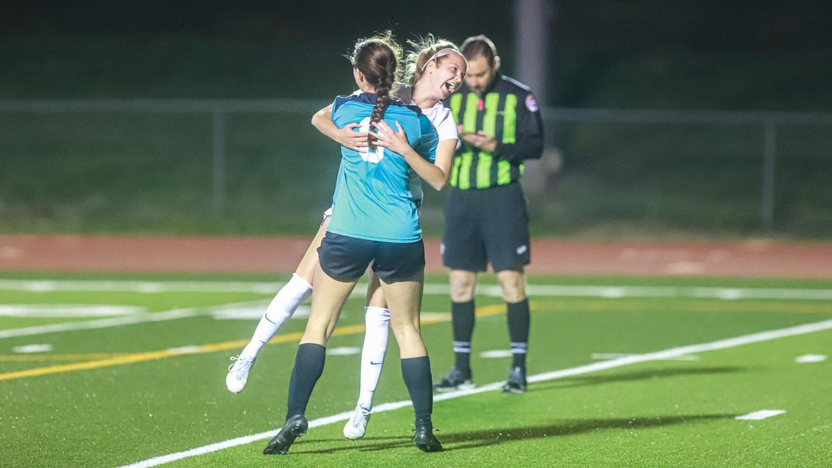 Kearney girls soccer wins in shootout after 2OT scoreless battle with Smithville