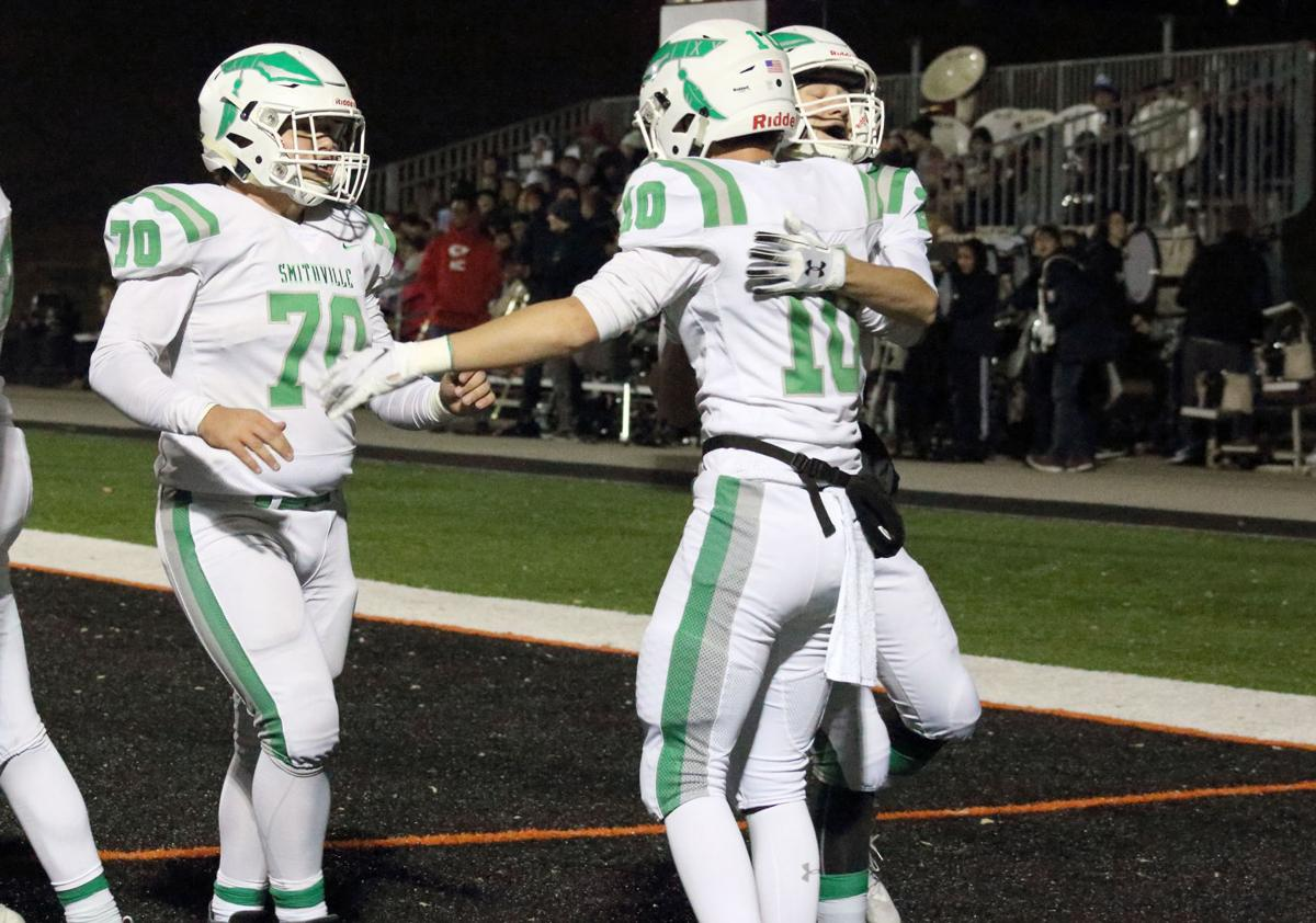 Platte County completes season sweep of Smithville