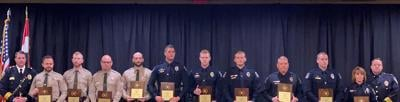 Liberty officers, Clay County deputies receive valor award