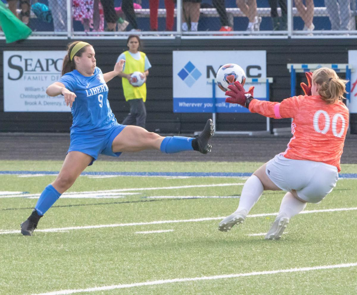 Penalty kicks seperates Liberty, Staley in section round