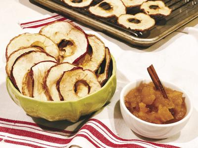 DONNA'S DAY: Make baked apple rings and applesauce