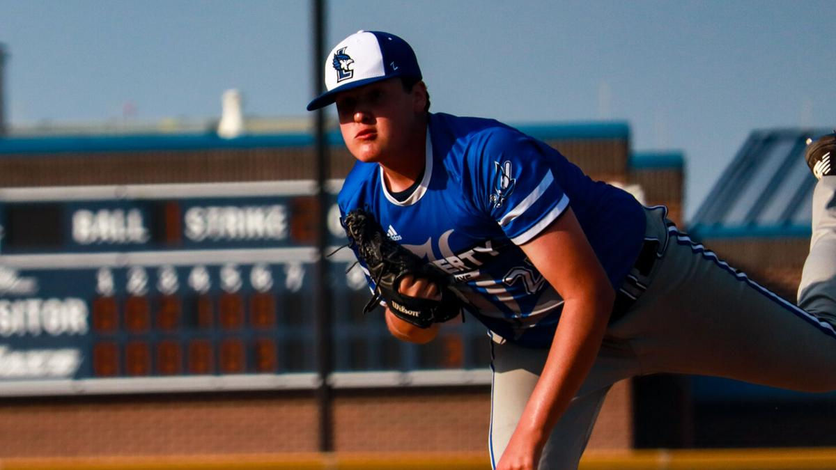 Liberty baseball edges out Liberty North in pitching duel