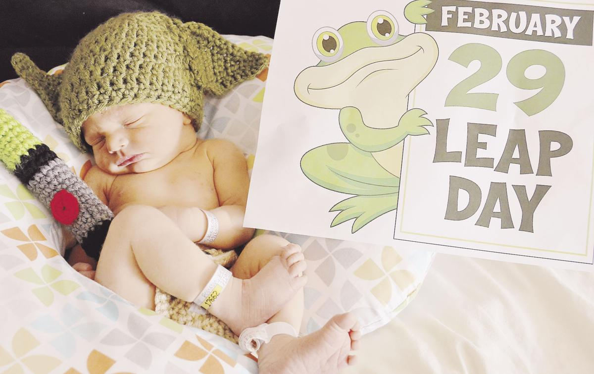 Couple welcomes Leap Day baby