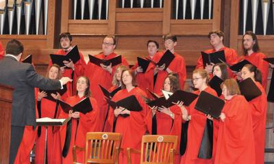 William Jewell College choir named finalist in national competition