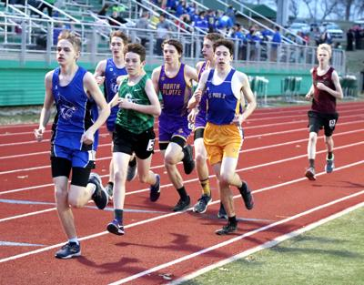 Warriors boys track preparing for season to start at conference meet