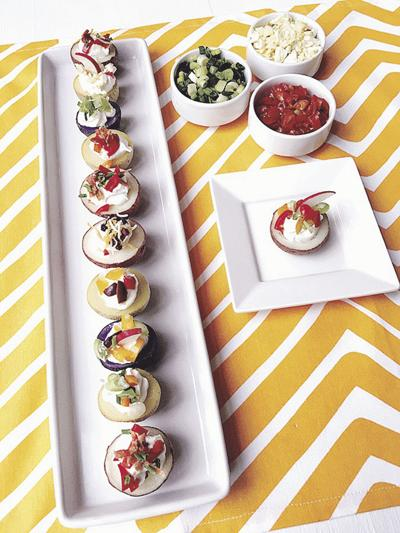 DONNA'S DAY: Stuffed new potatoes become Spanish tapas snack