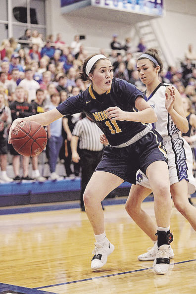 Rockers takes over Liberty North girls basketball program