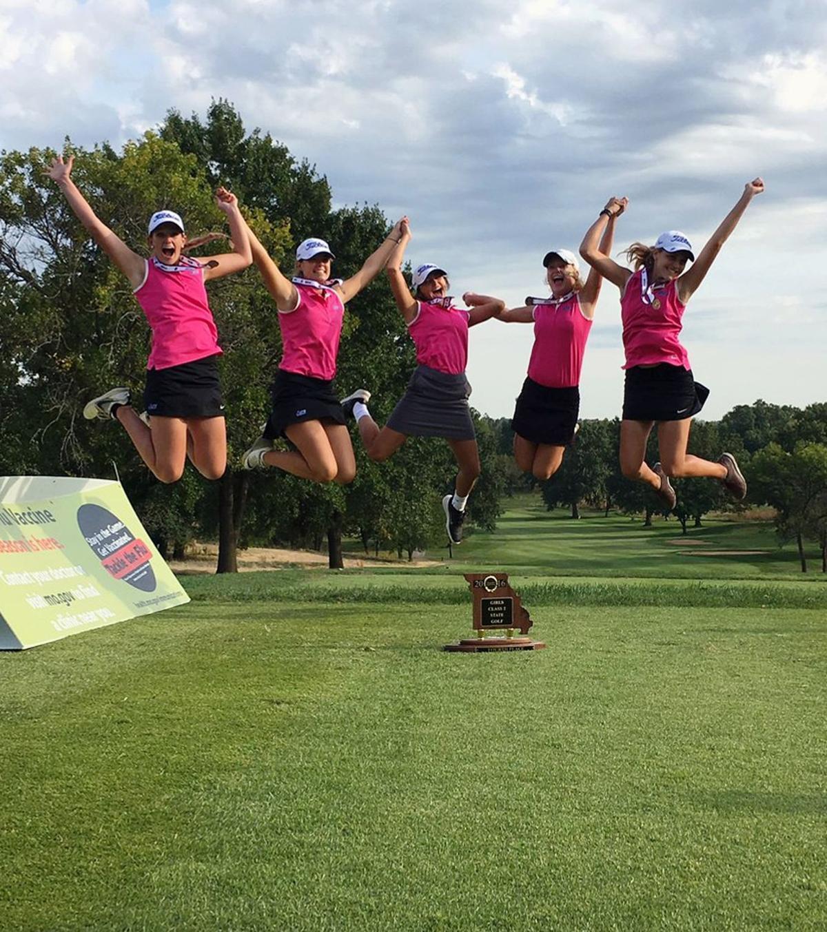 Two Liberty alums help lead Cardinals women's golf team to All-Scholar Team GPA Award