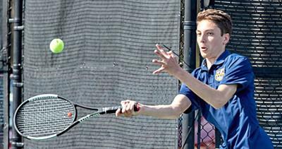 Liberty North's boys tennis celebrates winning season
