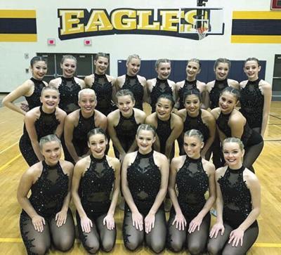Liberty North High School Golden Girls now Regional Grand Champions