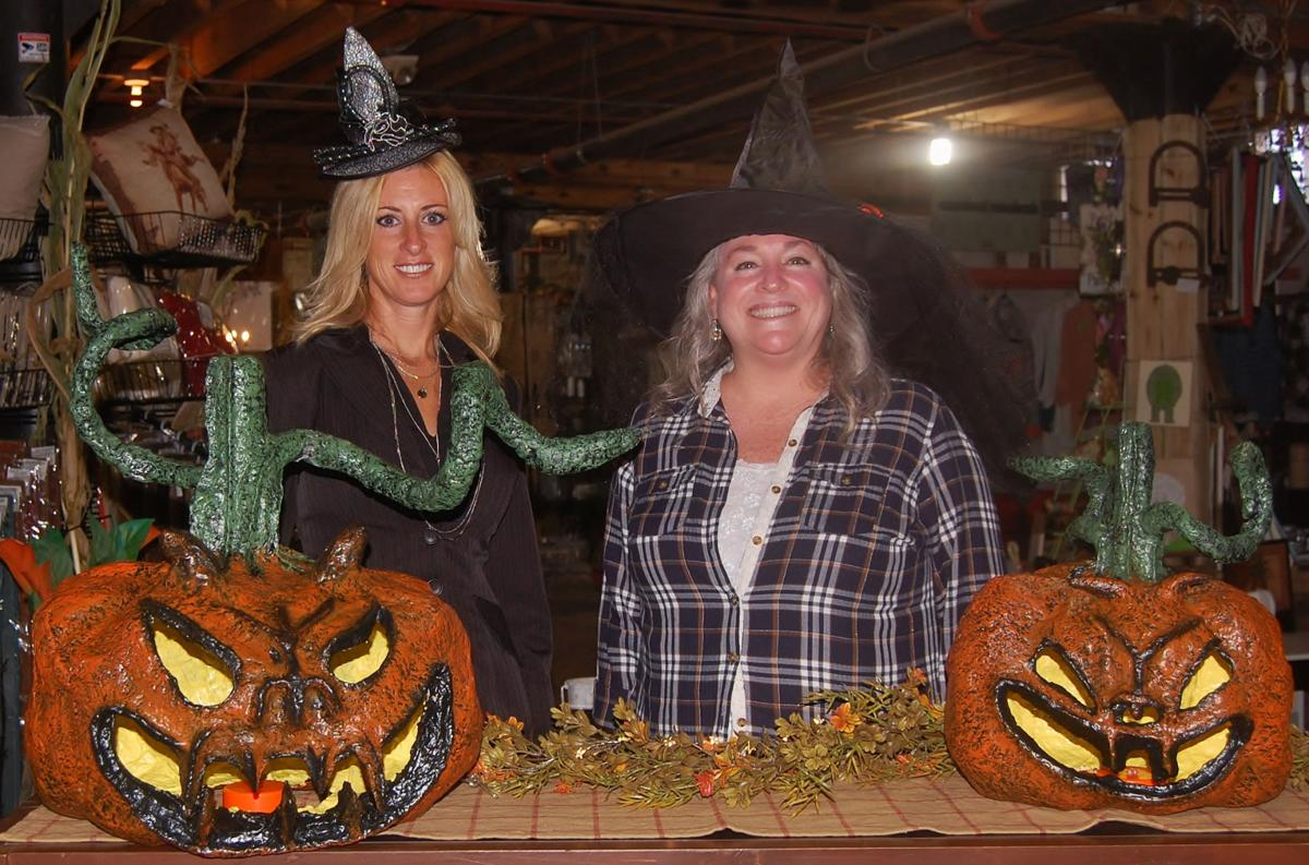 H20 Acres Country Store owner crafts pumpkins from recycled newspapers