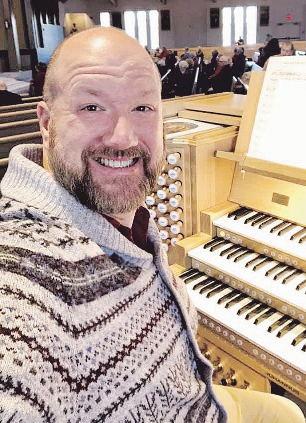 Musical director lives life of faith, music
