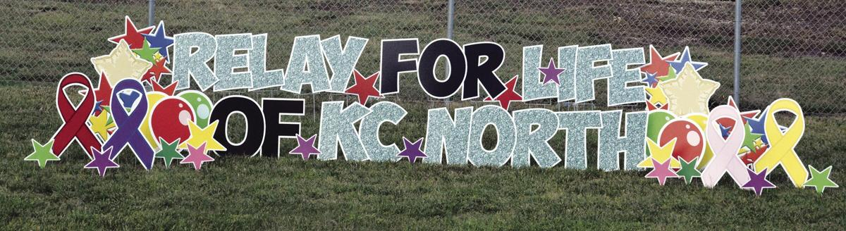 Relay For Life of KC North participants walk rain or shine