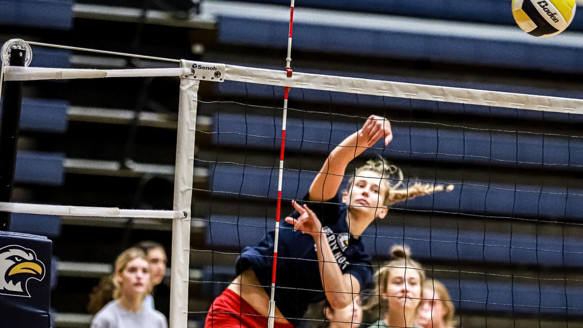 Liberty North volleyball summer practice