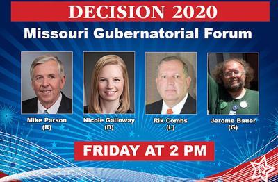 Courier-Tribune livestreams gubernatorial debate